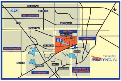 Gainesville map
